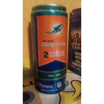 Pepsi Lata Miami Dolphins Nfl