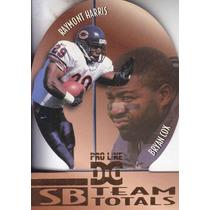 1997 Pro Line Dc Team Totals Raymont Harris Bryan Cox Bears