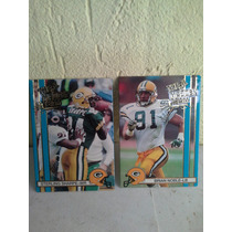 Giants Packers Cartas De Futbol Americano Colecionables 1990