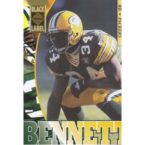 1995 Edge Black Label Edgar Bennett Rb Packers