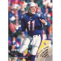 1996 Fleer Drew Bledsoe Qb Patriots