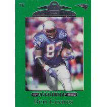 1999 Absolute Ssd Green Ben Coates Te Patriots