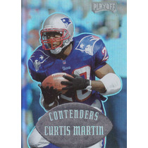 1997 Playoff Contenders Curtis Martin Rb Patriots
