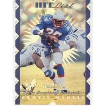1996 Donruss Hit List Curtis Martin New England Patriots