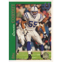 1997 Topps Minted In Canton Quentin Coryatt Lb Colts