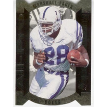 1995 Sp All Pro Gold Dc Marshall Faulk Indianapolis Colts