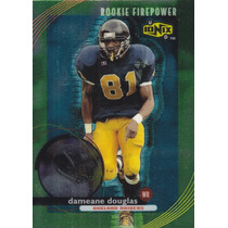 1999 Ud Ionix Rookie Firepower Dameane Douglas Wr Raiders