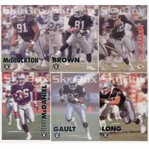 1993 Sky Box Impact Los Angeles Raiders Lote 542