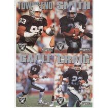 1992 Sky Box Impact Lote Los Angeles Raiders