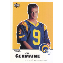 1999 Upper Deck Retro Rookie Joe Germaine Qb Rams