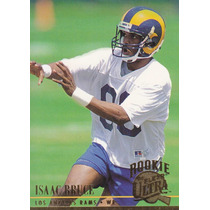 1994 Fleer Ultra Rookie Isaac Bruce Wr Rams
