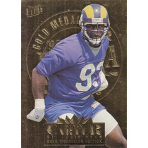 1995 Fleer Ultra Gold Medallion Rookie Kevin Carter Rams