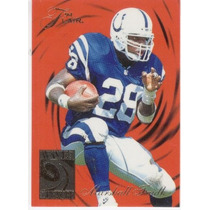1994 Flair Wave Of The Future Marshall Faulk Rc Colts