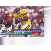 1995 Skybox Impact Jerome Bettis Rb Rams