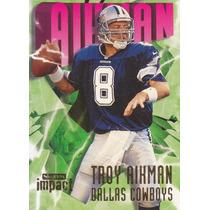 1997 Skybox Impact Troy Aikman Qb Cowboys