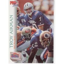 1992 Pro Set Troy Aikman Dallas Cowboys