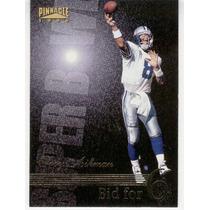 1996 Pinnacle Bid For 6 Troy Aikman Dallas Cowboys