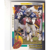 1992 Wild Card Pro Picks Emmitt Smith Rb Cowboys