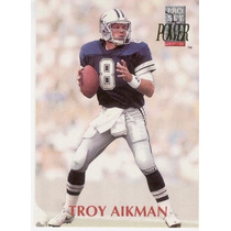 1992 Pro Set Power Troy Aikman Dallas Cowboys Qb