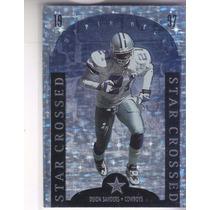 1997 Upper Deck Star Crossed Deion Sanders Cb Cowboys