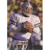1998 Edge 1st Place Thick Troy Aikman Qb Cowboys