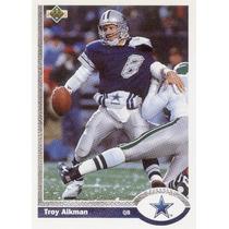 1991 Upper Deck Troy Aikman Dallas Cowboys