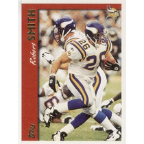 1997 Topps Robert Smith Minnesota Vikings