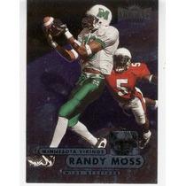 1998 Metal Universe Randy Moss Rc Minnesota Vikings