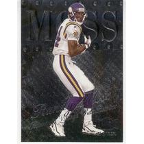 1999 Metal Universe Randy Moss Minnesota Vikings
