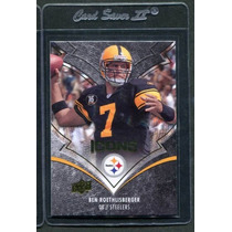 52 Tarj Udeck Icons 2008 Steelers, F Gore, A Peterson