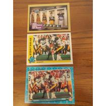 3 Tarjetas Viejitas Steelers