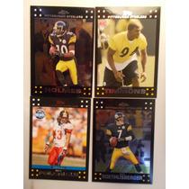 4 Tarj De Steelers 2007 2 Chrome Big Ben, Polamalu
