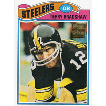 2002 Topps Reprints 1977 Terry Bradshaw Pittsburgh Steelers