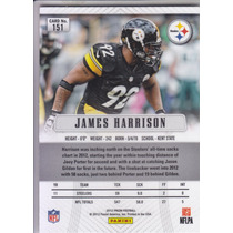 2012 Panini Prizm James Harrison Pittsburgh Steelers