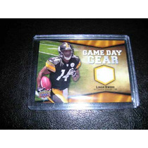 Limas Sweed Jersey Cards 2009 Pittsburgh Steelers