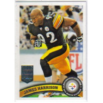 2011 Topps #138 James Harrison Acereros De Pittsburgh