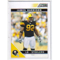 2011 Score #231 James Harrison Acereros De Pittsburgh
