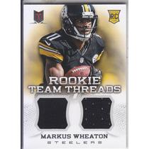 2013 Momentum Rc Dual Jersey Markus Wheaton Wr Steelers /399