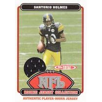 Santonio Holmes Tarj C Jersey Rookie 2006 Topps Steelers Rnt