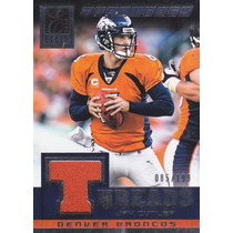 2014 Elite Throwback Threads Jersey Jay Cutler Broncos /199
