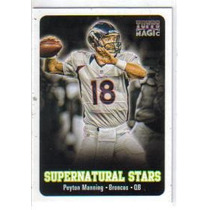 2012 Topps Magic Supernatural Stars #sspm Peyton Manning