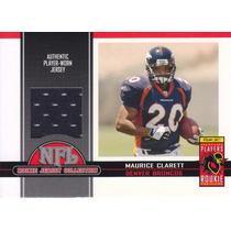 2005 Topps Total Target Exclusive Jersey Maurice Clarett Rb