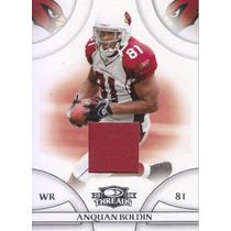 2008 Donruss Threads Jersey Anquan Boldin Wr Cards /250