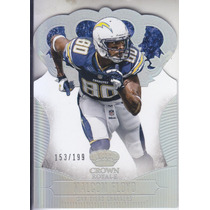 2013 Crown Royale Silver Holo Malcom Floyd Wr Chargers /199