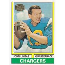 2001 Topps Archives Reprint John Unitas Qb Chargers