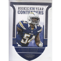 2012 Panini Contenders Rc Roy Melvin Ingram Sd Chargers