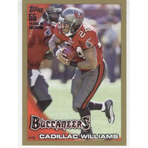 2010 Topps Gold Parallel Cadillac Williams Buccaneers /2010