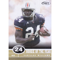 2006 Sage Hit Rookie Of The Year Cadillac Williams Rb Buccs