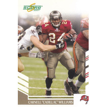 2007 Score Carnell Cadillac Williams Rb Buccs