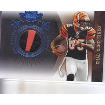 2010 Plates & Patches Prime Jersey Chad Ocho Cinco Wr /50
